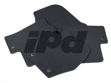 volvo carpet floor mat set black p3 s60 124093 39801568