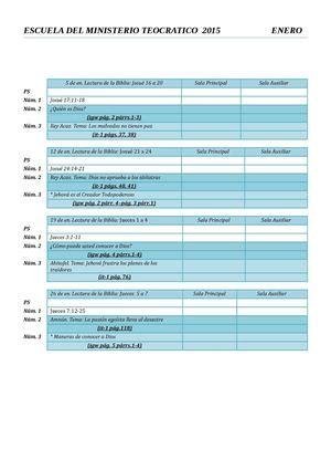 jw org programa de la escuela del ministerio del reino 2016 download programa de la escuela del ministerio teocratico share