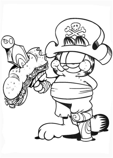 garfield coloring pages halloween coloring book garfield