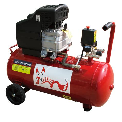 foxhunter 50ltr 2 5hp electric air compressor 11 gallon 2 5 hp boxed with wheel ebay