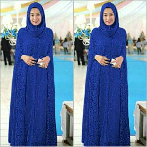 Stelan Abaya Gamis Muslim 3 jual baju gamis brokat benhur di lapak tokoobaju tokoobaju