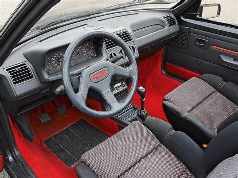 Cti Interiors by Peugeot 205 Cti Specs 1986 1987 1988 1989 1990 1991
