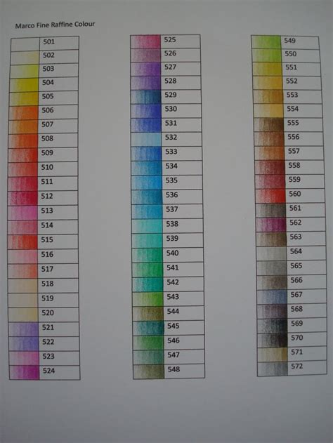 marco colored pencils marco raffine colored pencil swatches coloring