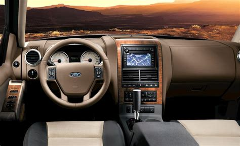 2009 Ford Explorer Interior by Car And Driver