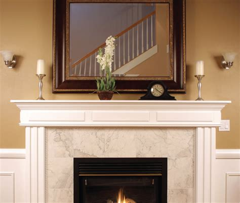 a mantel in the 417 home fall 2012