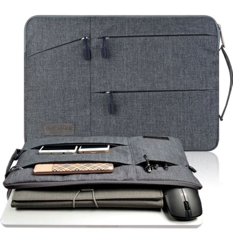 Diskon Waterproof Laptop Bag Sleeve For Macbook Air Retina Pro 11 12 gearmax laptop bag for macbook air pro 11 6 12 13 3 15 4 waterproof notebook bag for dell