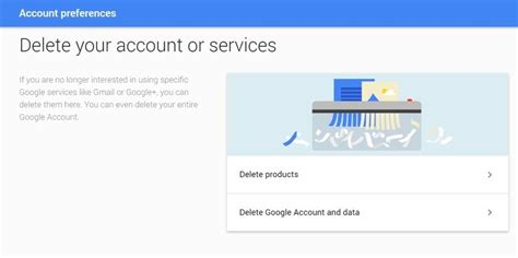 delete account how to delete a or gmail account