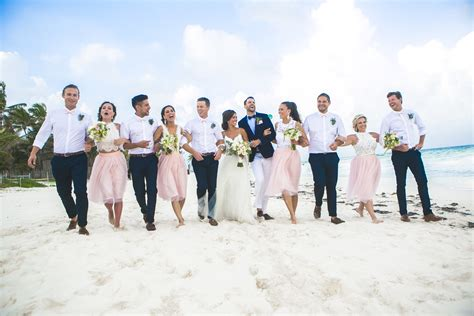 riviera maya wedding photographer cancun fun in the sun