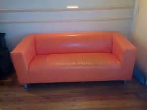 urgent canap 233 ikea klippan orange salon et meubles de