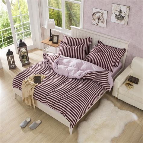 best bed sheets set twin full size brown and pink striped bedding best bed