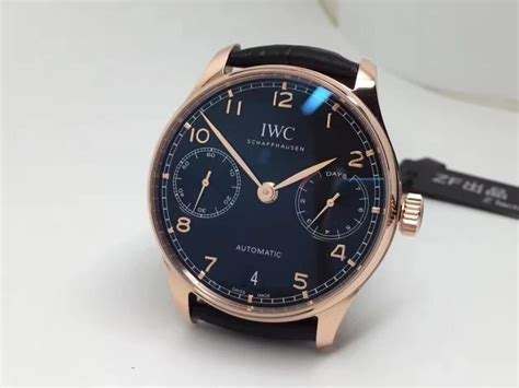 Jam Replika Iwc Portuguese 7 Days Rosegold Ultimate Clo Murah spot on replica watches and reviews