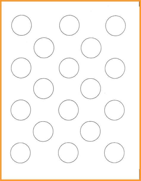 1 inch macaron template pictures to pin on pinterest