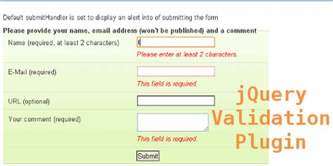 jquery tutorial for validation 35 ajax jquery plugins scripts and tutorials collection
