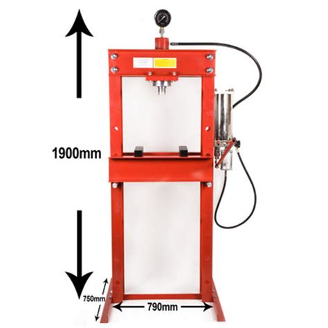 parts of hydraulic bench 30 ton hydraulic pneumatic air workshop pedal floor