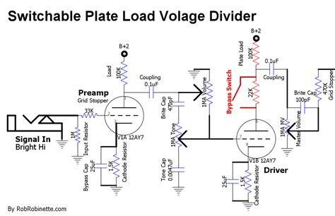 load resistor voltage divider index of images guitar other
