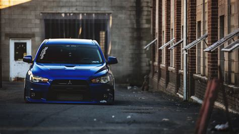jdm mitsubishi logo blue mitsubishi lancer evolution x tuning wallpaper http