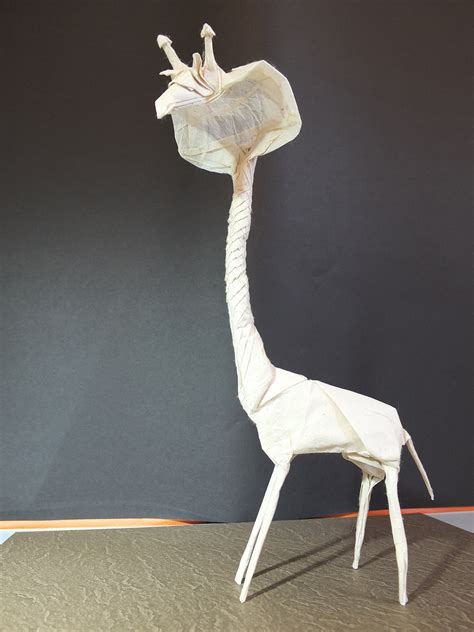 Origami Creatures - fascinating and slightly origami hybrid creatures