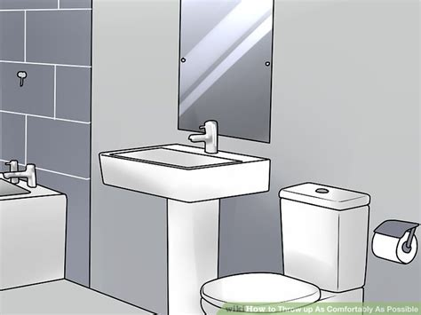 how to vomit comfortably the best way to throw up as comfortably as possible wikihow