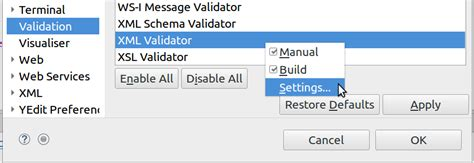 exclude pattern web xml how to exclude specific folders or files from validation