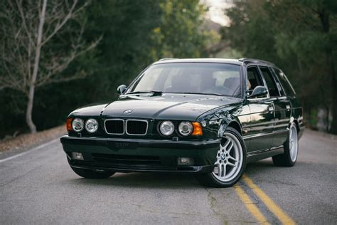this e34 bmw m5 touring quot elekta quot will make you miss the 90s
