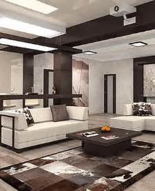 Interior Design Decor Ideas brown and white room colors contemporary interior design ideas