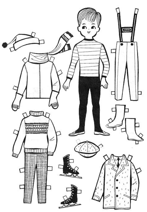 Printable Paper Doll Cutouts