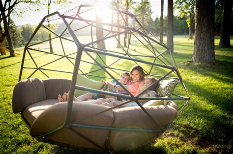 kodama zome suspended zome swinging beds from kodama zones