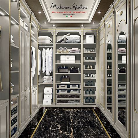 luxury walk  closet modenese gastone