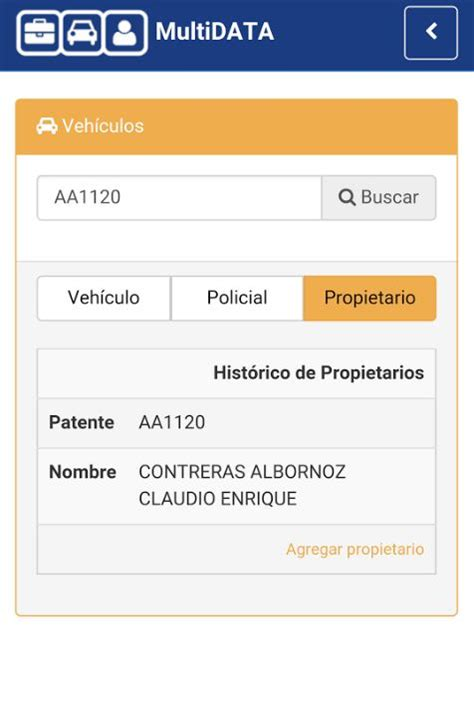 api patente de vehiculos como saber datos de una persona con la patente del auto