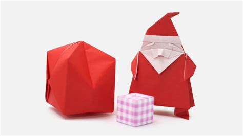 How To Make An Origami Santa Claus - origami origami santa claus easy origami how to