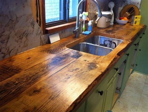 Rustic Kitchen Countertops Rustic Timber Countertops The Owner Builder Network