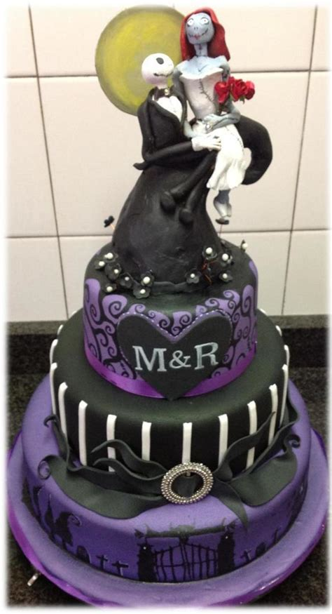 nightmare before cake ideas this was a wedding cake for a who wanted a