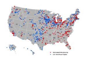 Wind Farm Map Usa by Occ Community Developments Investments Fall 2013 State
