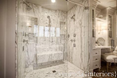 shower with jets on the walls transitional bathroom veranda interiors