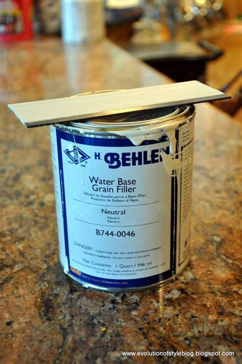 Wood Grain Filler For Oak Cabinets by 1000 Ideas About Painting Oak Cabinets On