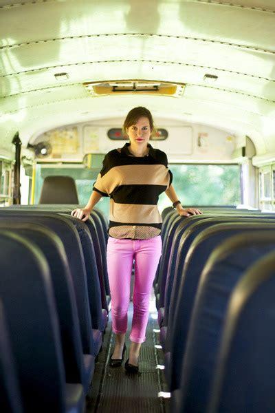 Blouse Buble Polka polka dot mine blouse gum neon