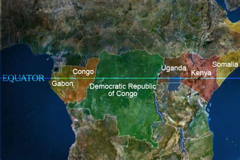 africa map equator walking cheetahs december 2010
