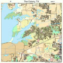 map of the colony of the colony map 4872530