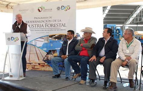 www conafor gob mx list de beneficiarios 2016 inauguran dos aserraderos y entregan apoyos para el sector