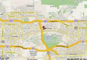 map of inn express hotel suites san dimas san dimas