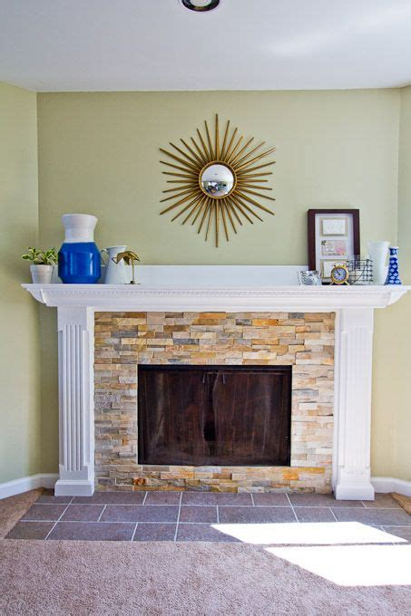 diy reface fireplace with tile 17 best ideas about fireplace refacing on
