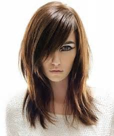 Hairstyles with bangs and layers for round faces new hairstyles