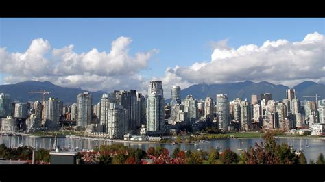 city  vancouver bc canada youtube