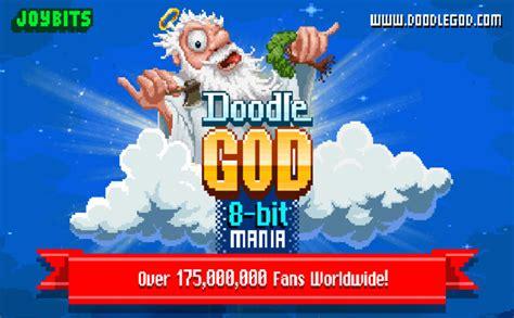 doodle god najwspanialsze wynalazki doodle god 8 bit mania blitz kultowa gra w retro