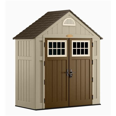 3 Foot Shed by Suncast Alpine 3 Ft 8 In X 7 Ft 6 In Resin Storage