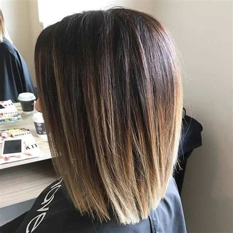 blunt end bob with subtle layers best 25 shoulder length haircuts ideas on pinterest