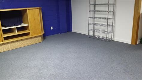 Carpet Squares For Basement Floors by Thermaldry Carpet Tiles In Finished Basement