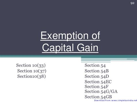 section 10 37 of income tax act capital gain