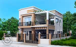 Two Story Small House Plans Carlo 4 Bedroom 2 Story House Floor Plan Pinoy Eplans