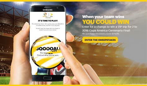 Sprint Sweepstakes - sprint copa america sweepstakes and iwg